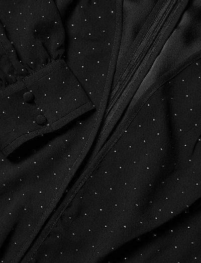 Guess Jeans Isra Dress- Mekot Noir De Jais