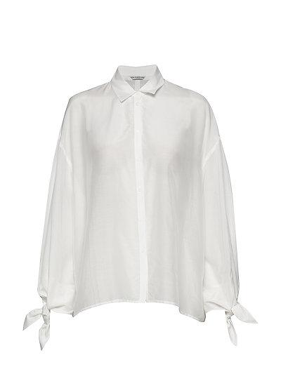 Ls Marisa Shirt Langärmliges Hemd Weiß GUESS JEANS
