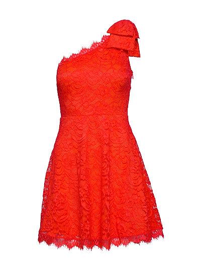 Celia Dress Kurzes Kleid Rot GUESS JEANS