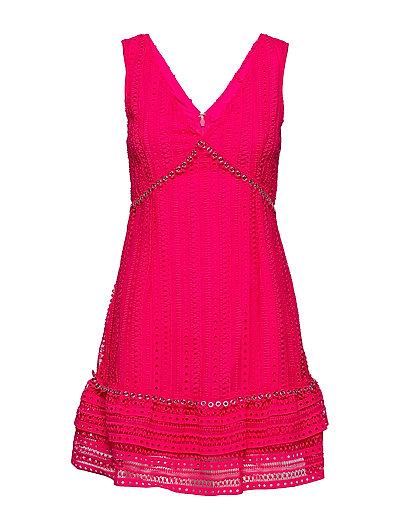 Leandra Dress Kurzes Kleid Pink GUESS JEANS