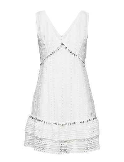 Leandra Dress Kurzes Kleid Weiß GUESS JEANS