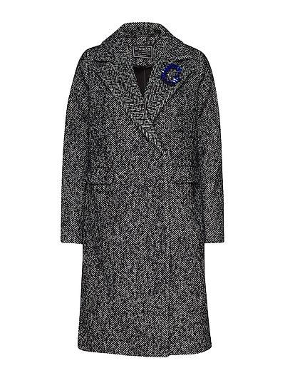 Rocio Coat Wollmantel Mantel Grau GUESS JEANS