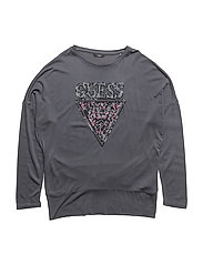 LS T-SHIRT - GRANITE HEATHER