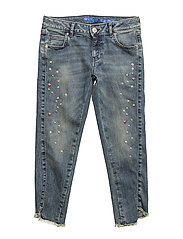 UPER SKINNY DENIM - LIGHT RIVET WASH
