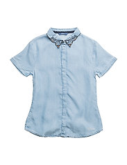 S DENIM TOP - MEDIUM TENCEL WAS