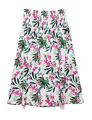 KIRT/DRESS - FLOWER PINK COMBO