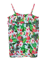 ANK TOP - TROPICAL FLOWER P