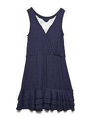 L DRESS - FANCY BLUE