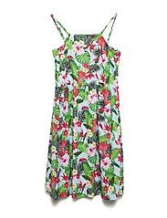L DRESS - TROPICAL FLOWER P