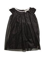 DRESS - JET BLACK