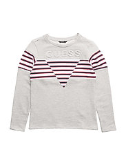 S SWEATSHIRT - LIGHT HEATHER GRE