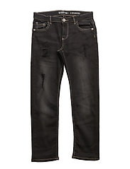 5 PKT PANTS DENIM - DARK GREY WASH