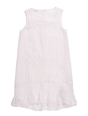 SL DRESS - BLANC/EGGSHELL