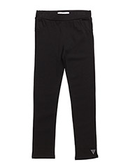 LEGGINGS - JET BLACK W/ FROS