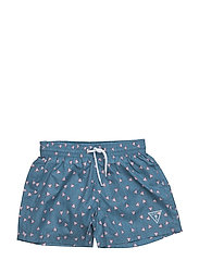 SWIM TRUNK - ALLOVER/ DENIM IN