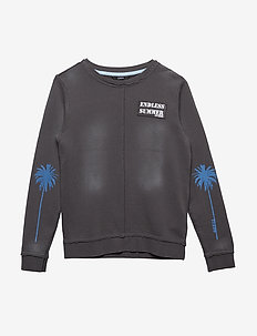 S FLEECE - sweatshirts - concrete grey