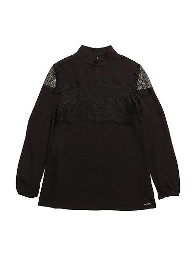 LS SHIRT - JET BLACK