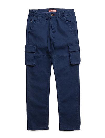 CHINO CARGO PANT - BLEU/DECK BLUE