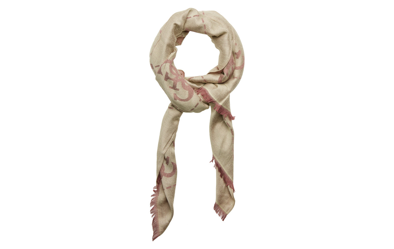 GUESS GUESS VINTAGE SCARF 78X180 - MERLOT