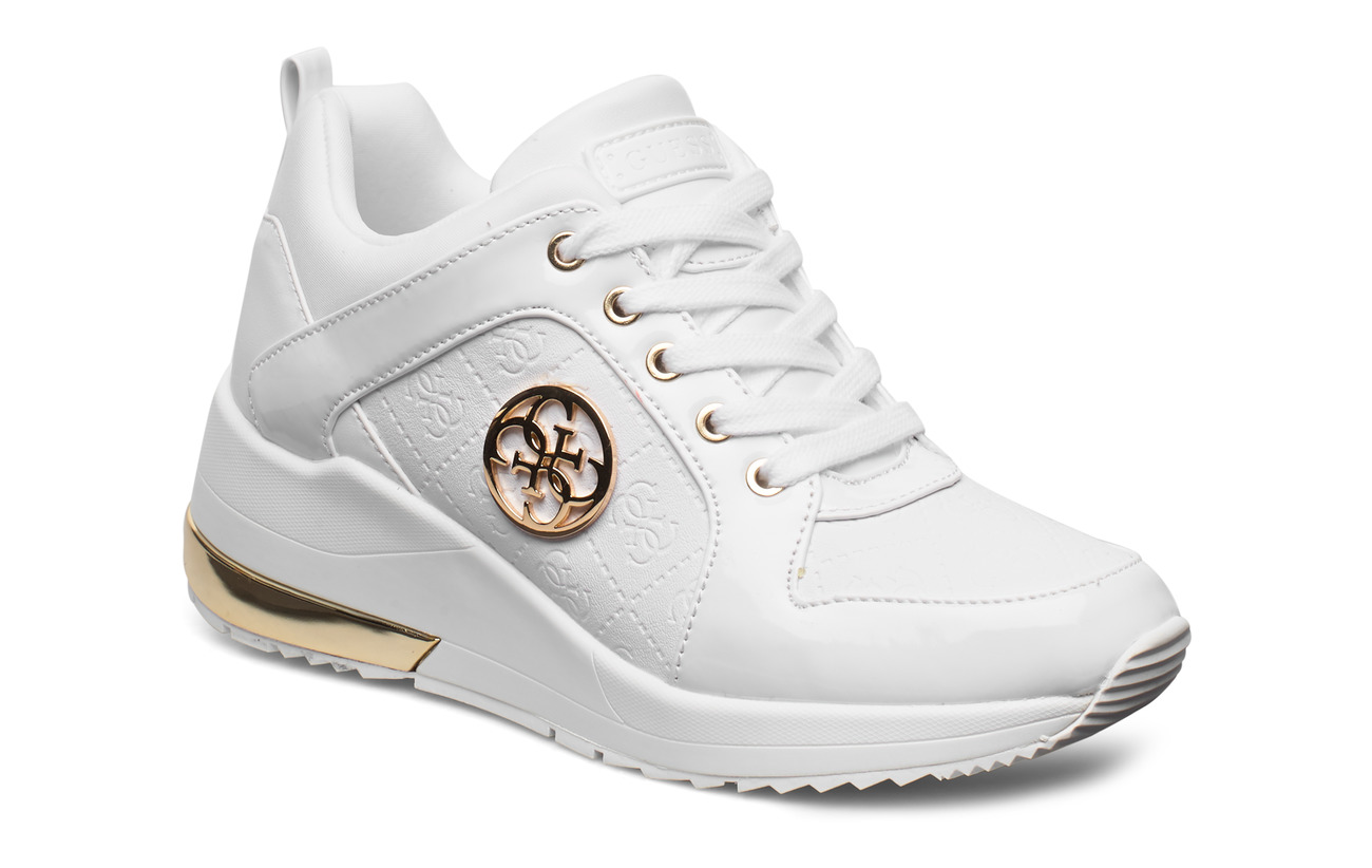 GUESS JARYDS4/ACTIVE LADY/LEATHER LI - WHITE