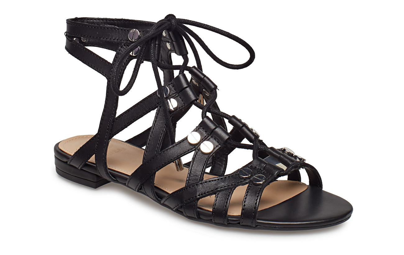 GUESS RAMONDA/SANDALO (SANDAL)/LEATH - BLACK