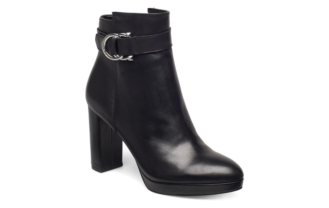 GUESS ABBEA/STIVALETTO (BOOTIE)/LEAT - BLACK