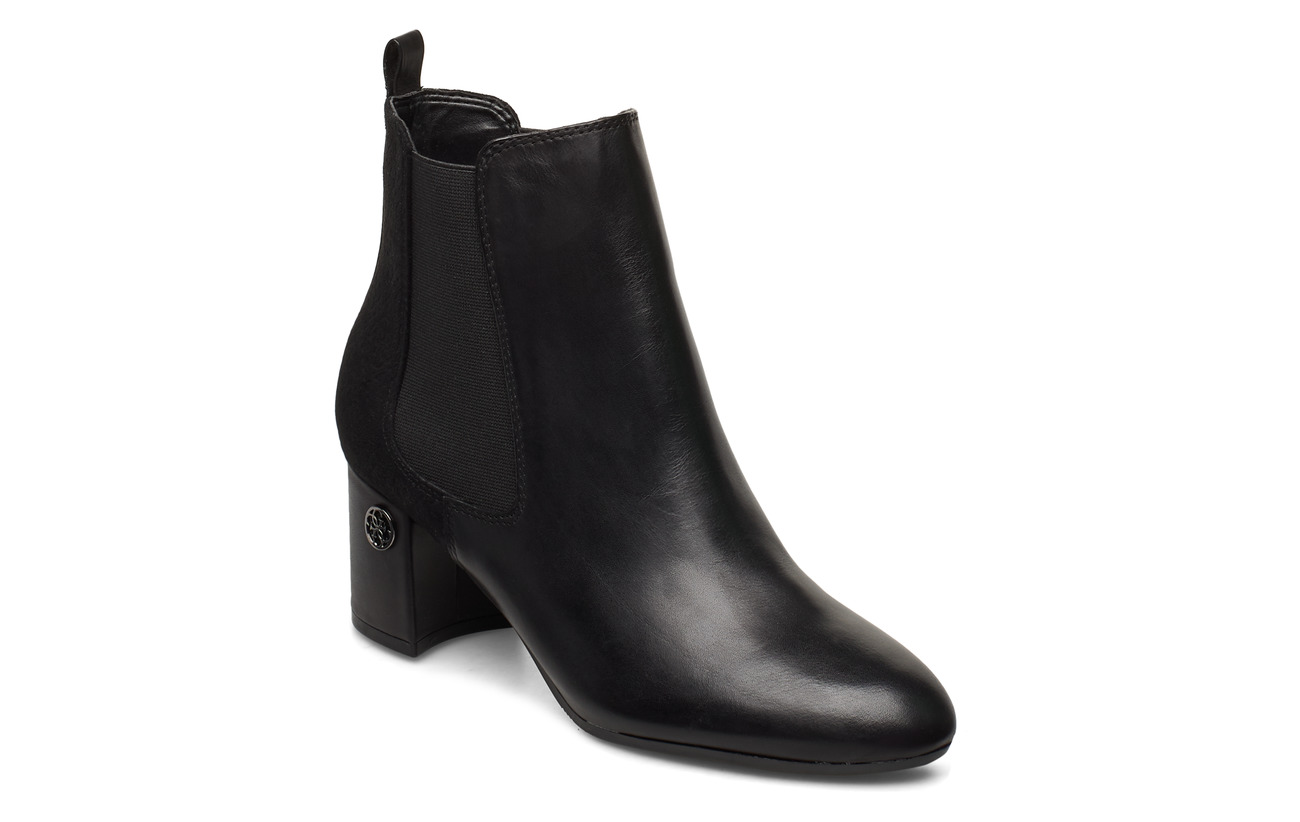 GUESS ACURN/STIVALETTO (BOOTIE)/LEAT - BLACK