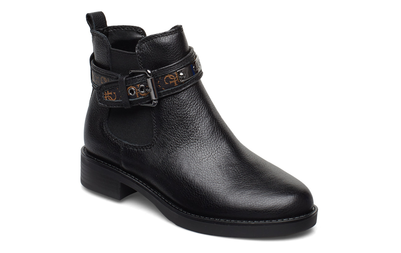 GUESS BATEL/STIVALETTO (BOOTIE)/LEAT - BLACK