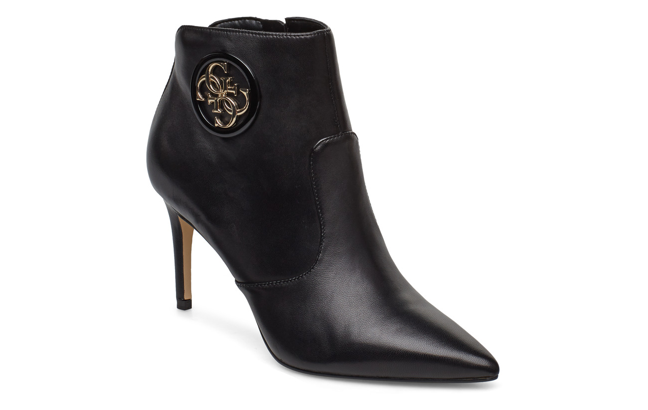GUESS BYRNE/STIVALETTO (BOOTIE)/LEAT - BLACK