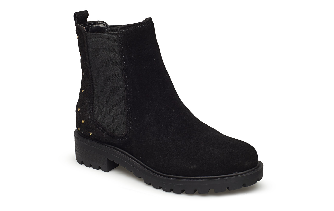 GUESS HYDEE/SHOOTIE  (ANKLE BOOT)/SU - BLACK