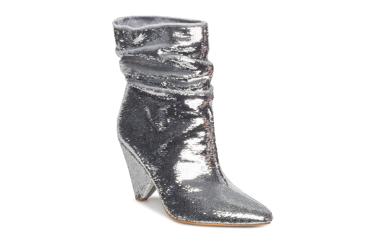 GUESS AKITTAN/SHOOTIE  (ANKLE BOOT) - SILVER