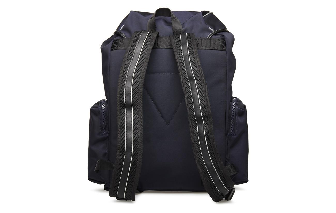 100 Backpack Guess Polyamide Blue Vibes Sport IzxxO8B