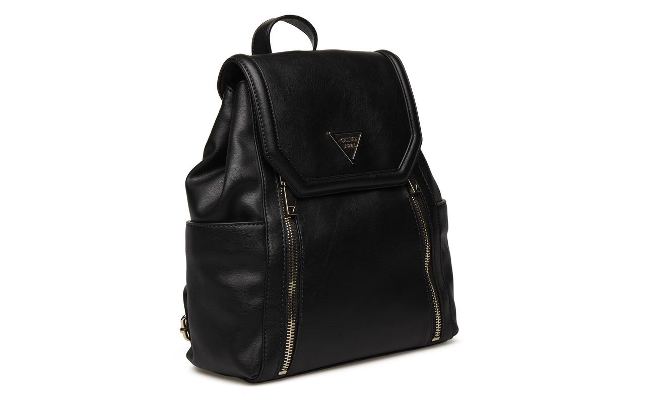 Black 100 Urban Sport Backpack Polyurethane Guess ST47qUaT