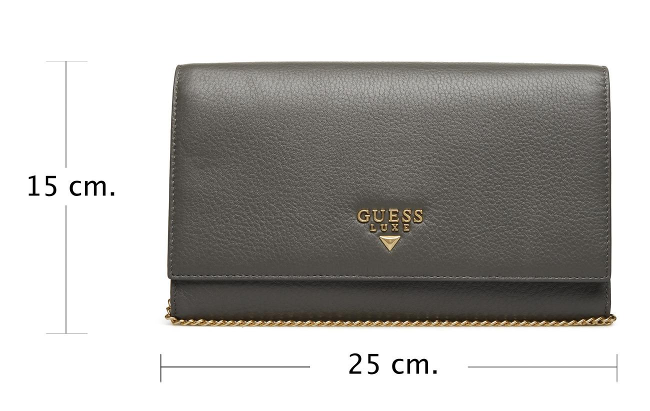 Wallet Guess Krystal Cuir Travel Grey 100 ECRn7qU