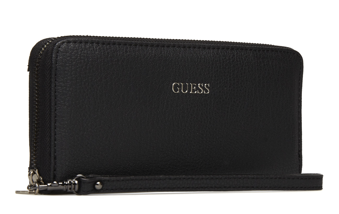100 Kinley Slg Zip Large Black Around Guess Pvc fYdqwq