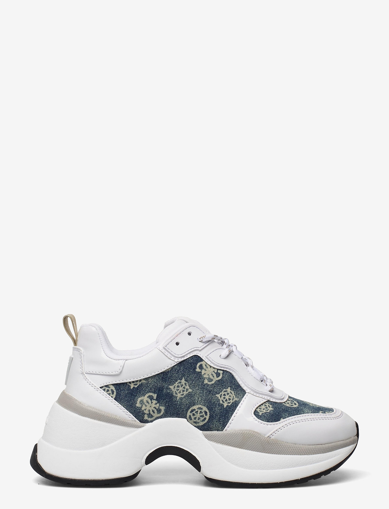 GUESS - JENNEA/ACTIVE LADY/LEATHER LIK - chunky sneakers - white - 1