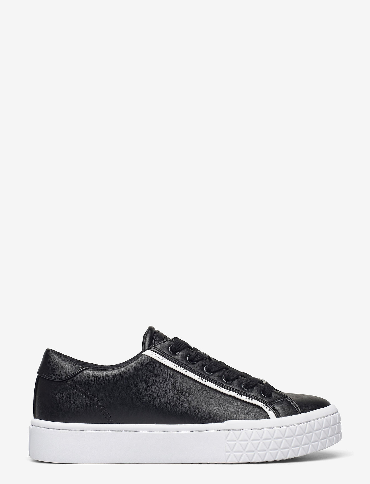 GUESS - PARDIE/ACTIVE LADY/LEATHER LIK - låga sneakers - blkwh - 0