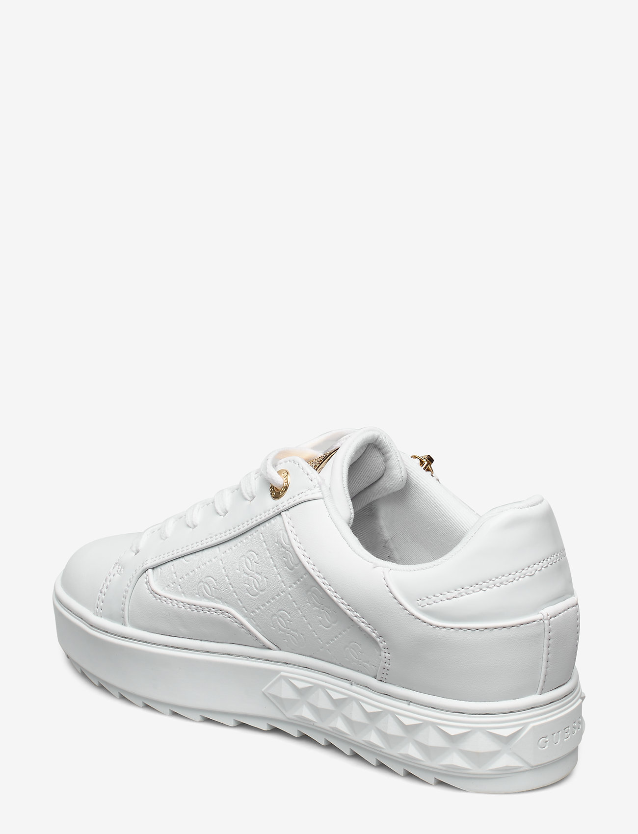 Guess Figgi/active Lady/leather Like - Sneakers White