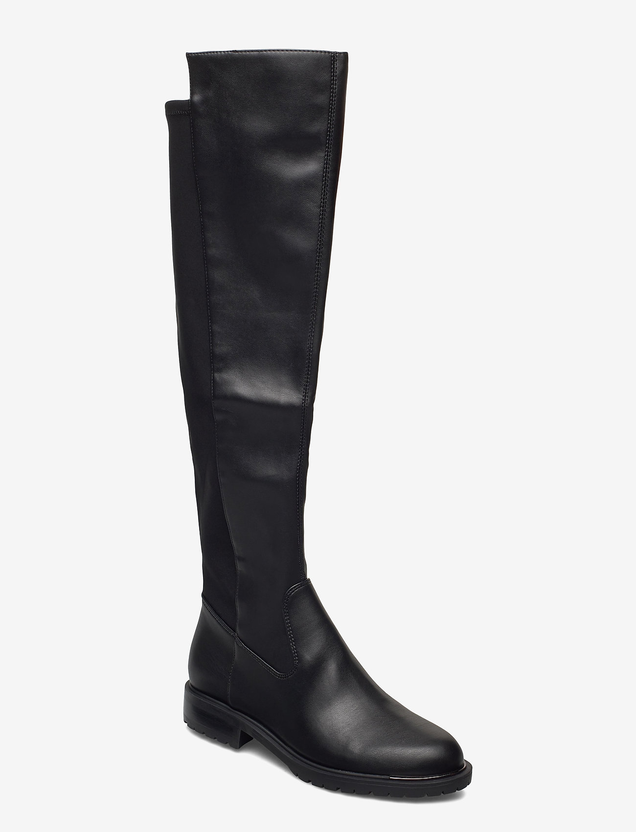 GUESS - RANIELA2/STIVALE (BOOT)/LEATHE - lange laarzen - black - 0