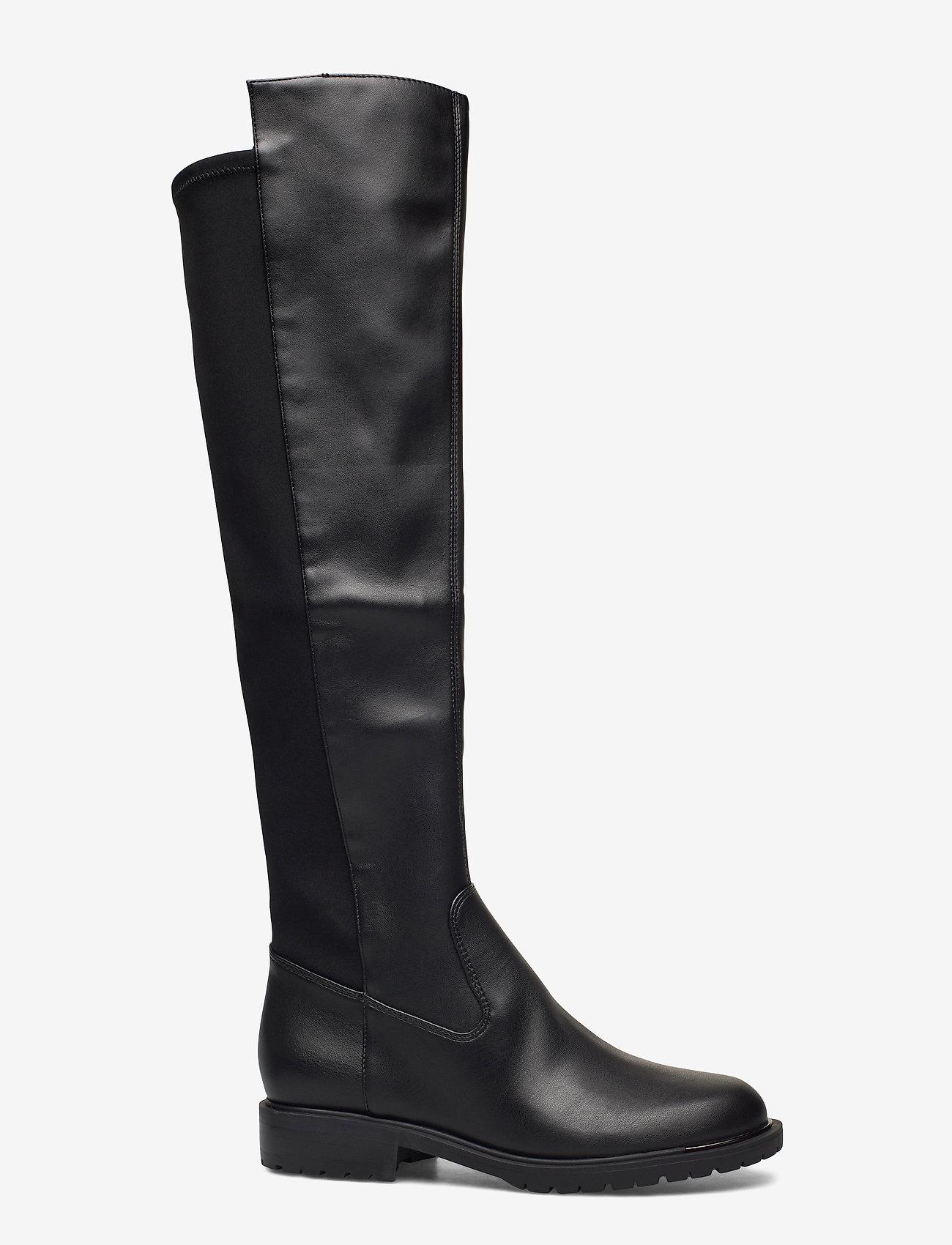 GUESS - RANIELA2/STIVALE (BOOT)/LEATHE - lange laarzen - black - 1