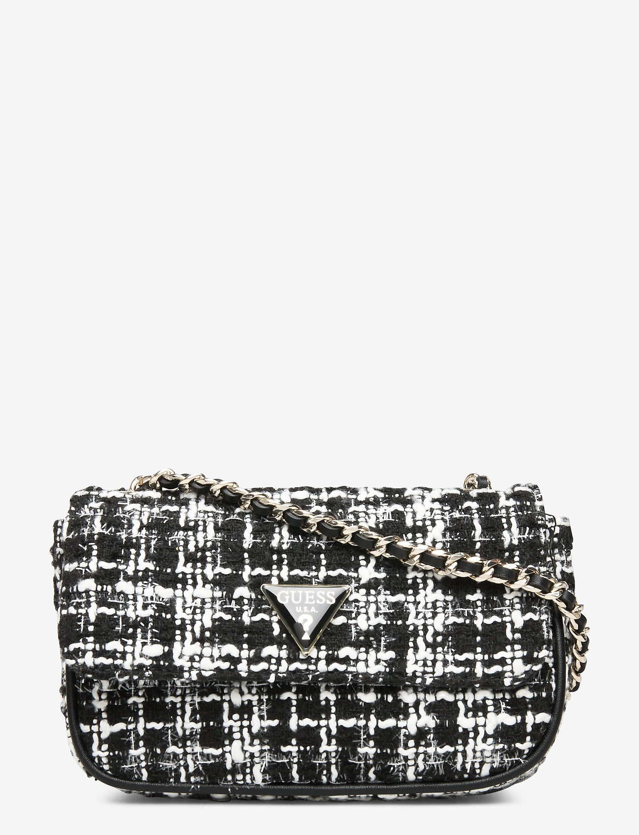 Guess Cessily Micro Sling - Axelremsväskor Black Multi