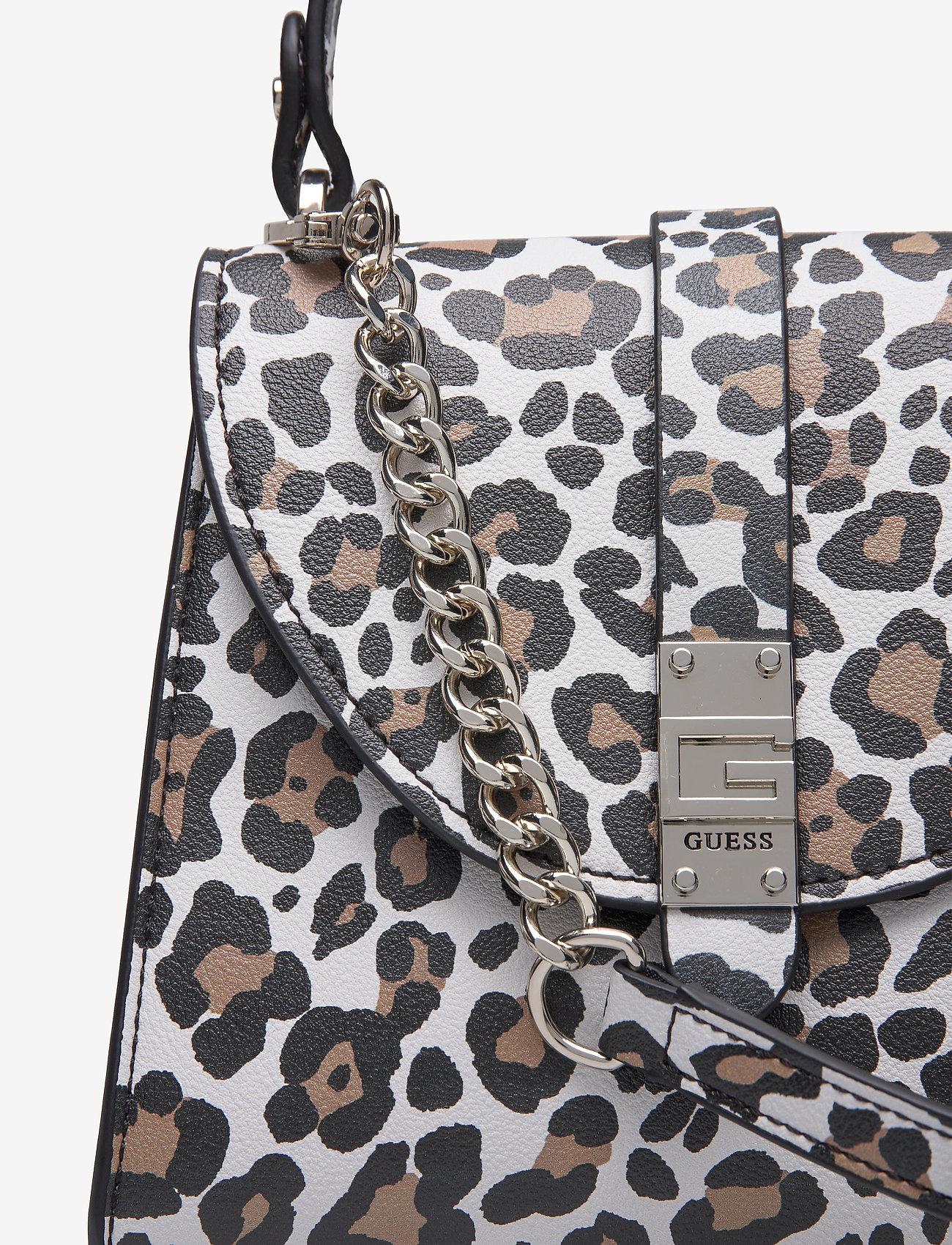 Nerea Top Handle Flap (Leopard) (77.35 €) - GUESS 1HCaw