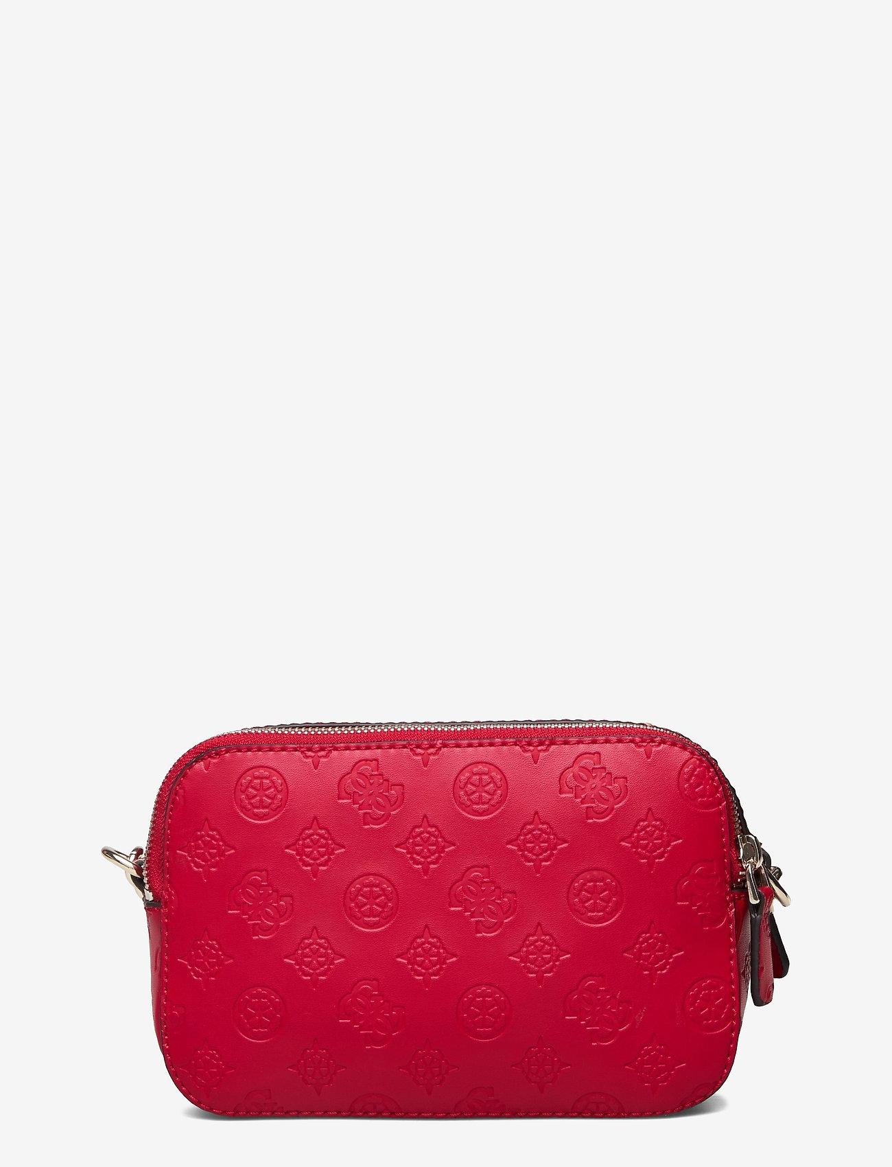 GUESS - NOELLE CROSSBODY CAMERA - crossbody bags - red - 1
