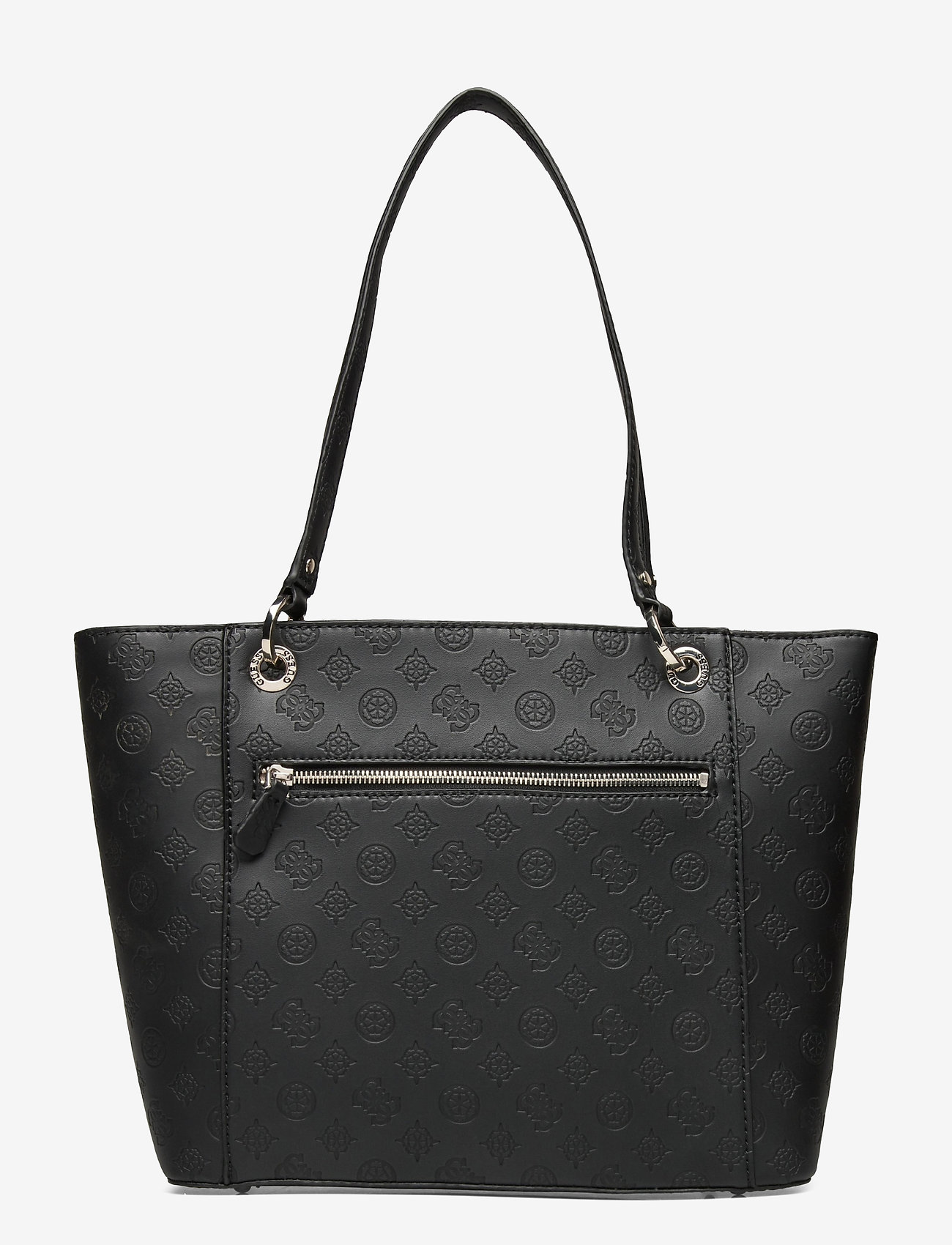 GUESS - NOELLE ELITE TOTE - shoppingväskor - black - 1