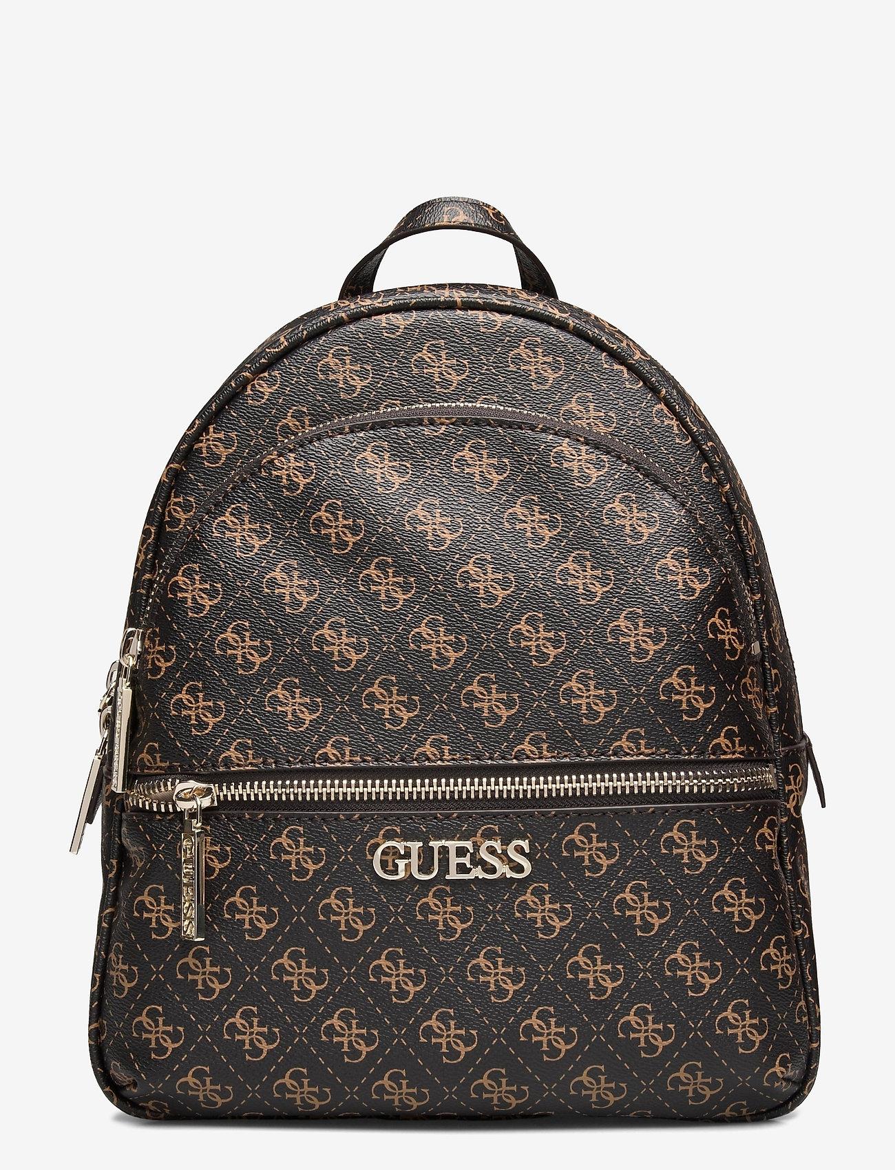 GUESS - MANHATTAN BACKPACK - sacs á dos - brown - 0