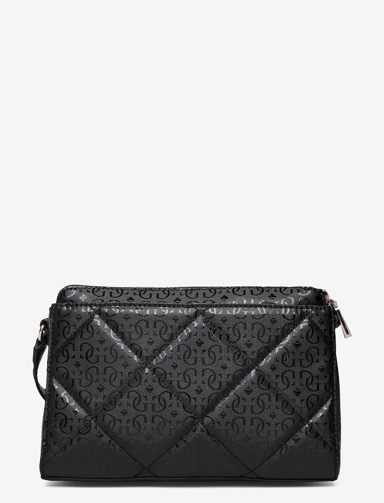 GUESS - DILLA GIRLFRIEND CROSSBODY - crossbody bags - black - 1