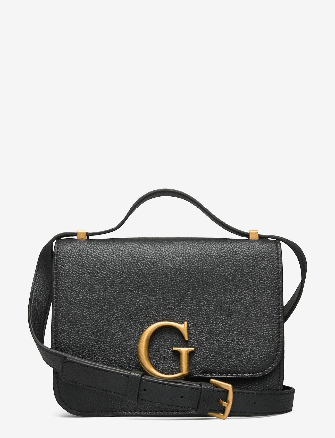 GUESS - CORILY CONVERTIBLE XBODY FLAP - handväskor - black - 0