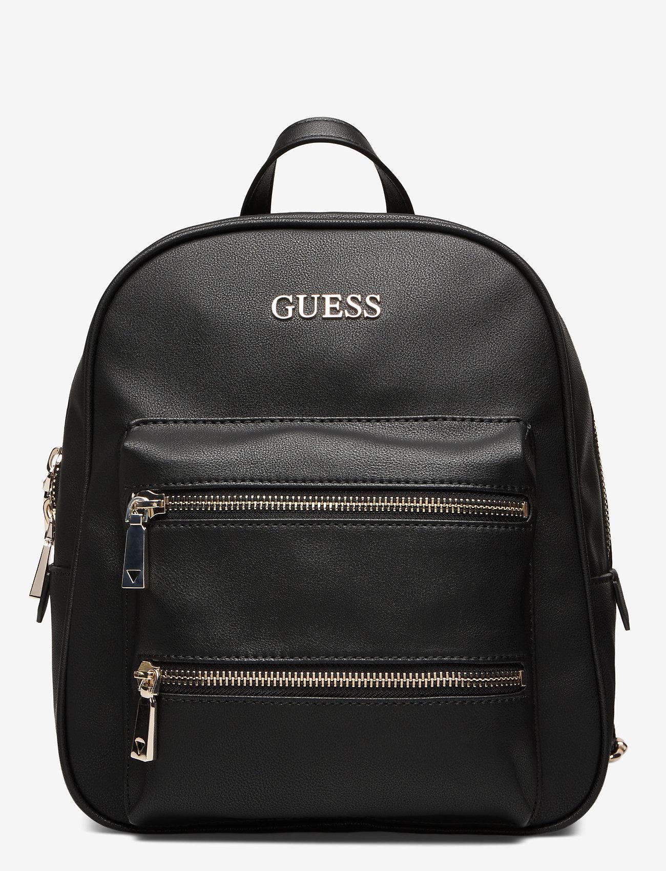Guess Caley Large Backpack - Sac Á Dos Black
