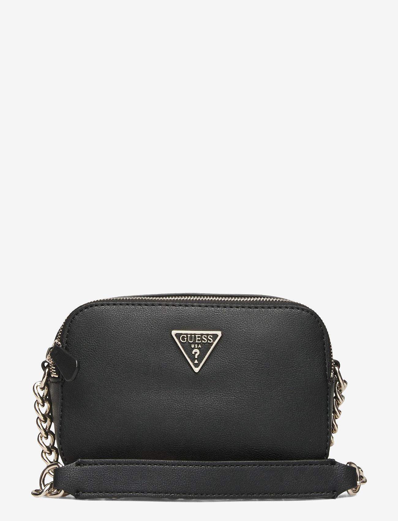 GUESS - NOELLE CROSSBODY CAMERA - crossbody bags - black - 0
