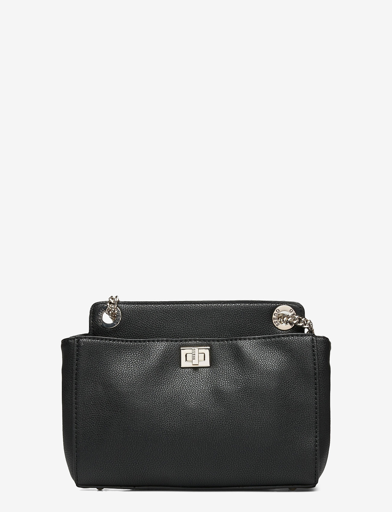 GUESS - SANDRINE CONVERTIBLE CROSSBODY - crossbody bags - black - 1